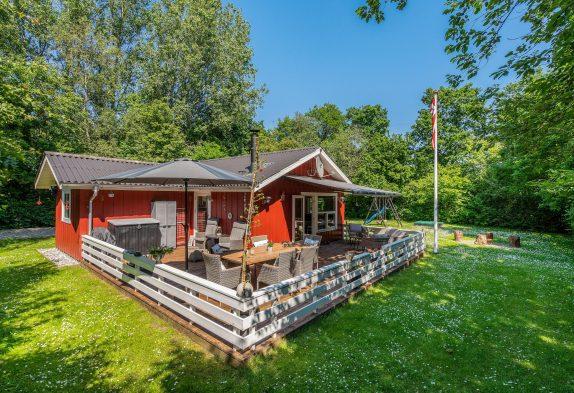 Familienfreundliches Ferienhaus auf schönem Grundstück inJegum