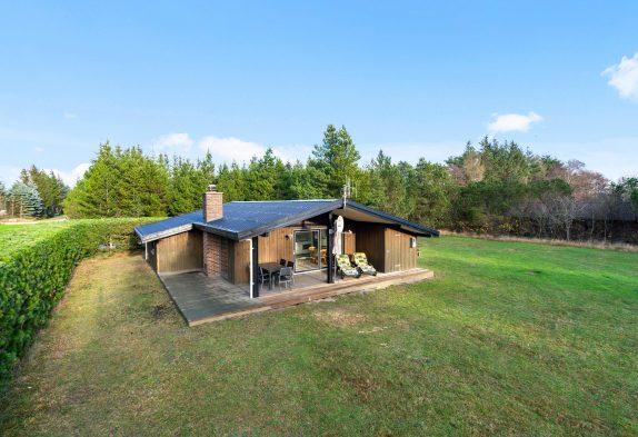 Schönes Ferienhaus mit Sauna und Kaminofen
