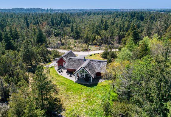 Luxuriöses Ferienhaus in einzigartiger Lage inmitten der Natur
