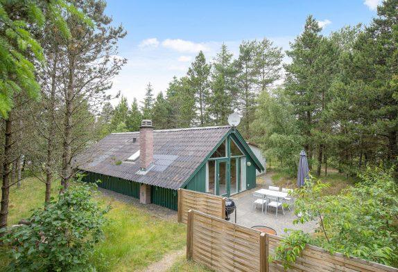 Ferienhaus mit Bollerofen für Naturliebhaber