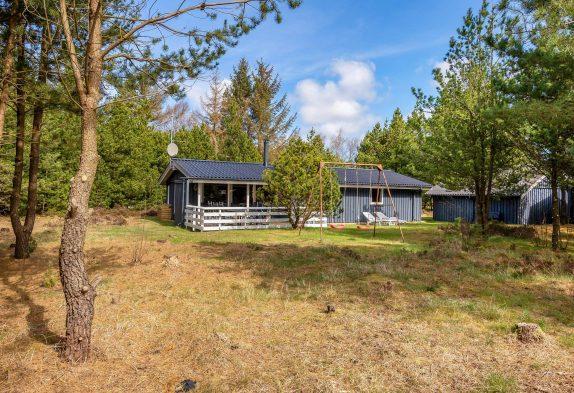 Familienfreundliches Ferienhaus mit Sauna und Kaminofen