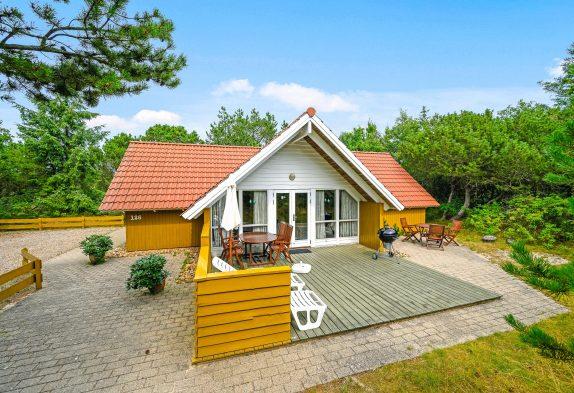 Gemütlich eingerichtetes Ferienhaus in ruhiger Umgebung