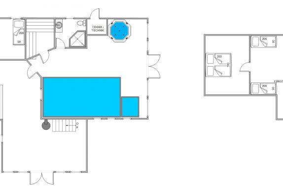 KlassischesPoolhausmit Sauna, Whirlpool und Platz für 10!