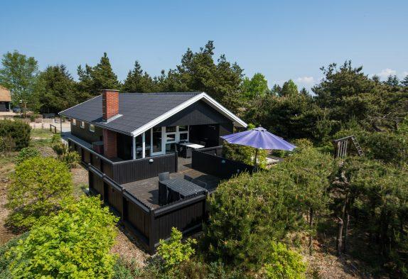 Gemütliches Ferienhaus mit Sauna und Kaminofen auf herrlichem Waldgrundstück