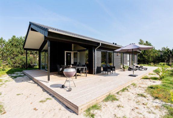 Modernes, neugebautes Ferienhaus mit 2 Badezimmern