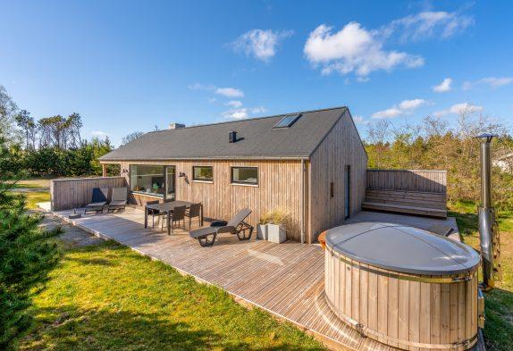 Tolles 5-Sternehaus-Ferienhaus mit schöner Terrasse