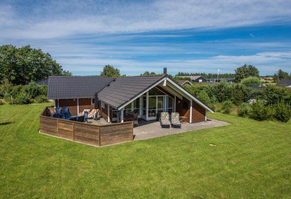 Gemütliches Ferienhaus mit Sauna und Whirlpool