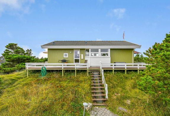 Ferienhaus mit fantastischer Aussicht, nur 500 m vom Strand