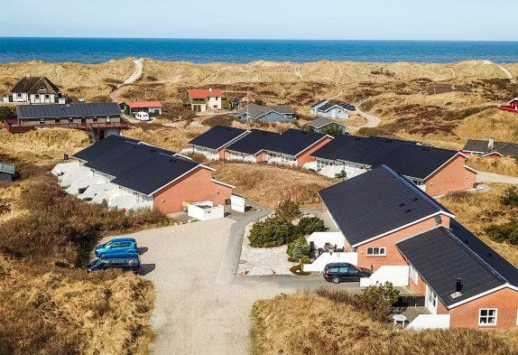 Strandnahes Appartment inVejers, nur 100 m zum Meer