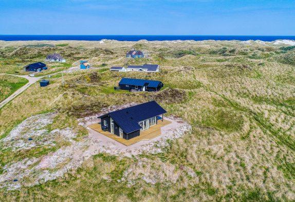 Strandnahes Ferienhaus in fantastischer Lage mit Panoramaaussicht