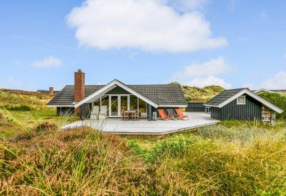 Ferienhaus mit Kaminofen und ruhiger, landschaftlich reizvoller Lage