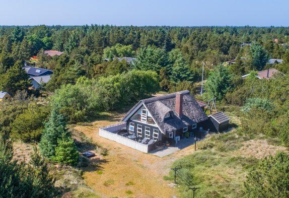 Schönes Reetdachhaus auf tollem Grundstück, 2 Hunde