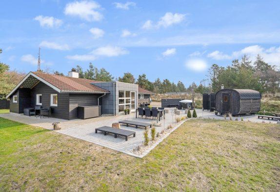 Schönes Ferienhaus mit Sauna und Wildmarksbad in toller Umgebung
