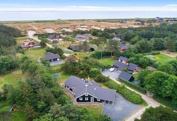Gepflegtes Poolhaus mit Sauna, Whirlpool für 12 Personen in Blåvand