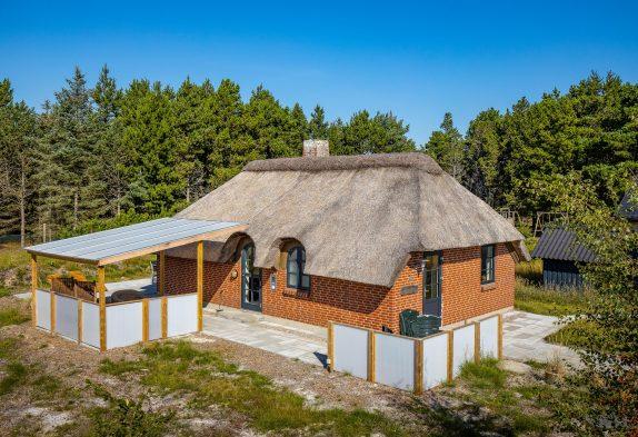 Gemütliches Ferienhaus mit Kamin in idyllischer Lage in Blåvand