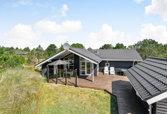 Schönes, zentrumnahes Ferienhaus in Blåvand für 6 Personen