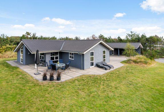 Kinderfreundliches Familienferienhaus in Dänemark, 500 m zum Strand
