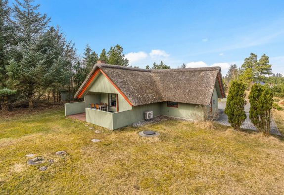 Klassisches Sommerhaus in Blåvand mit Kamin und Sauna, 2 Hunde