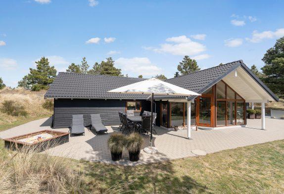 Ferienhaus für 6 Personen mit Aktivitätsraum und 2 Badezimmern