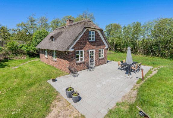 Reetdachhaus in Blåvand mit Whirlpool und Sauna