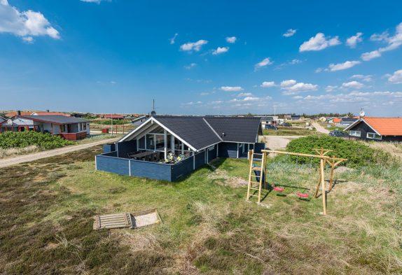 Gutes Ferienhaus mit geschlossener Terrasse