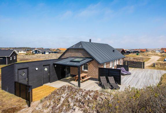 Ferienhaus direkt am Naturschutzgebiet und Strand