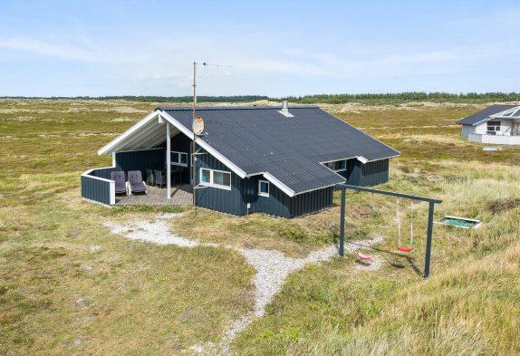 Sommerhaus mit überdachter Terrasse und Internet