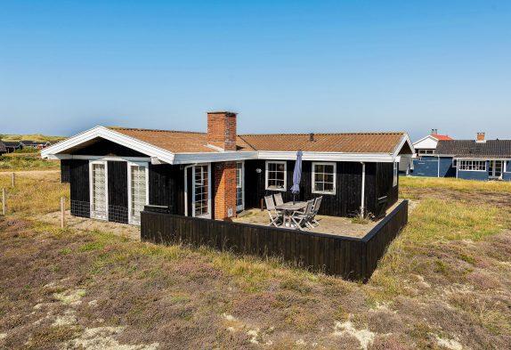 Gemütliches Holzhaus mit Kaminofen