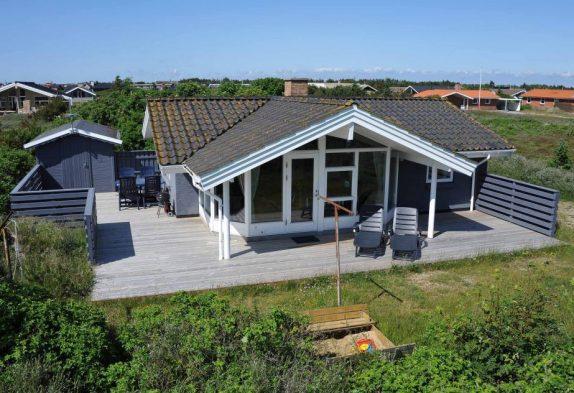 Schönes Ferienhaus in Westjütland, ideal für Familien
