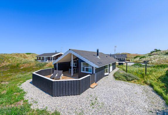 Schönes Ferienhaus mit herrlichem Blick auf die Dünen