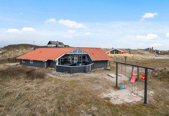 Haus für 10 Personen mit Whirlpool, Sauna nah am Strand