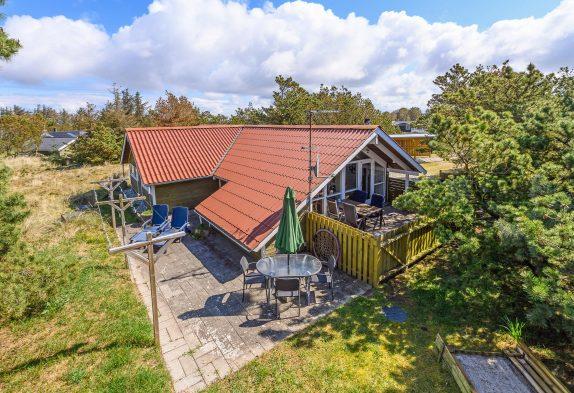 Ferienhausurlaub in Bjerregård mit Whirlpool, Sauna und Glasfaser