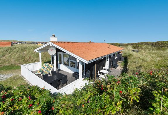 Nichtraucher Ferienhaus nah am Strand, Dünen-Aussicht