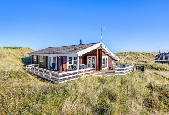 Ferienhaus mit Sauna, Whirlpool und schöner Terrasse in toller Lage