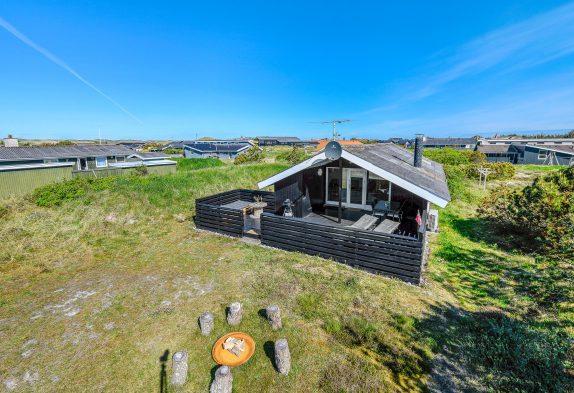 Gemütliches Ferienhaus mit Kaminofen in strandnaher Lage