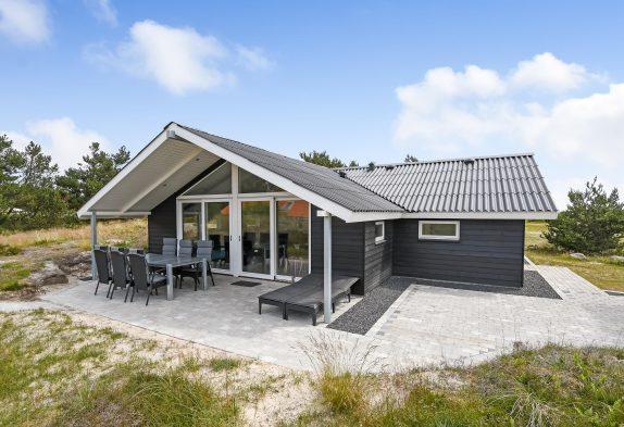 Renoviertes Ferienhaus in Bjerregård mit Sauna und Holzofen
