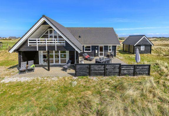 Schönes Holzhaus mit fantastischer Aussicht
