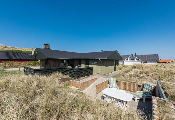 Schönes Ferienhaus in der Nähe vom Strand und den Dünen