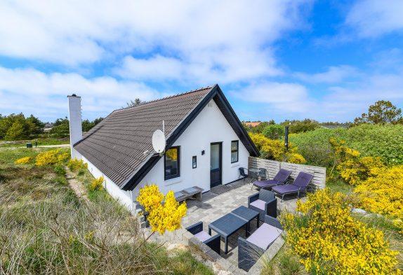 Ferienhaus für 4 Personen mit geschlossener Terrasse und Sauna