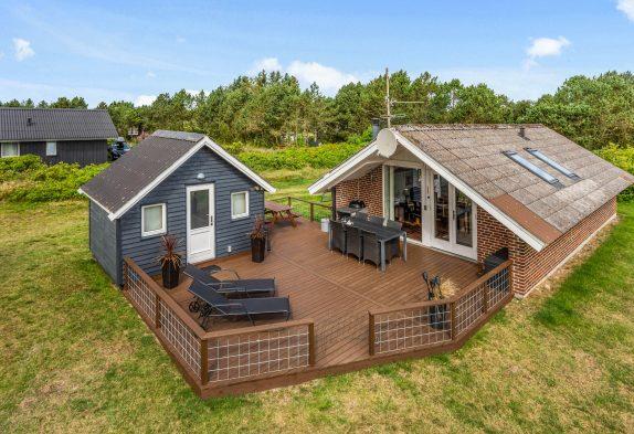 Ferienhaus für 4 Personen mit Kaminofen