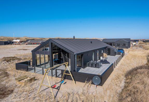5-Sterne-Ferienhaus mit Whirlpool und Sauna inBjerregård