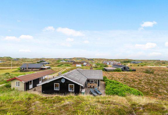 Gemütliches Ferienhaus mit Sauna & Blick auf die Dünen