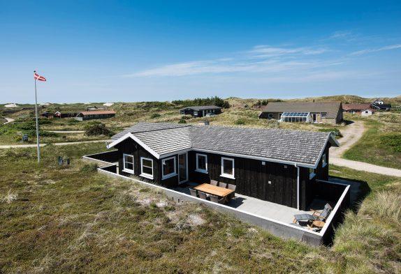 Charmantes und elegantes Ferienhaus inmitten wunderschöner Dünenlandschaft