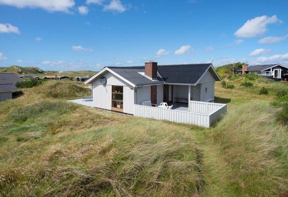 Ferienhaus für 6 Personen mit mehreren Terrassen