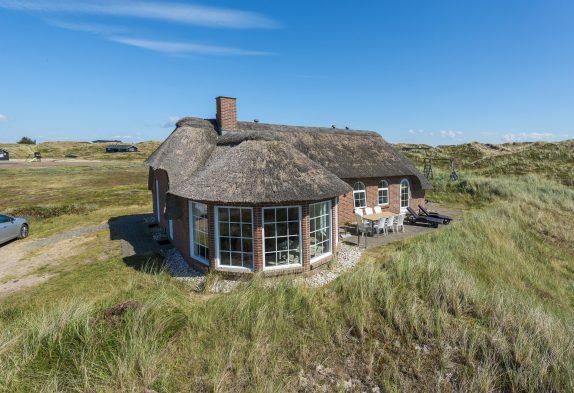 Haus mit Aussicht auf Naturgrundstück im Riskrogvej