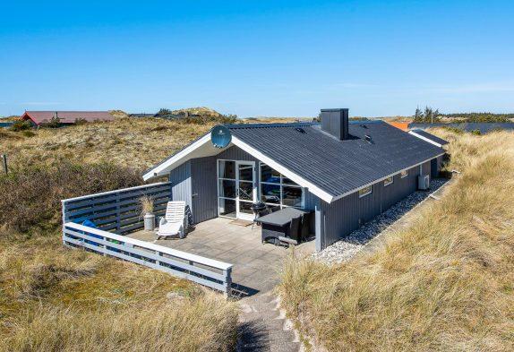 Freundliches Holzhaus nahe der Nordsee