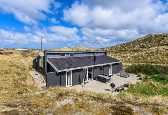 Ferienhaus mit Dampfkabine für 6 Personen in den Dünen