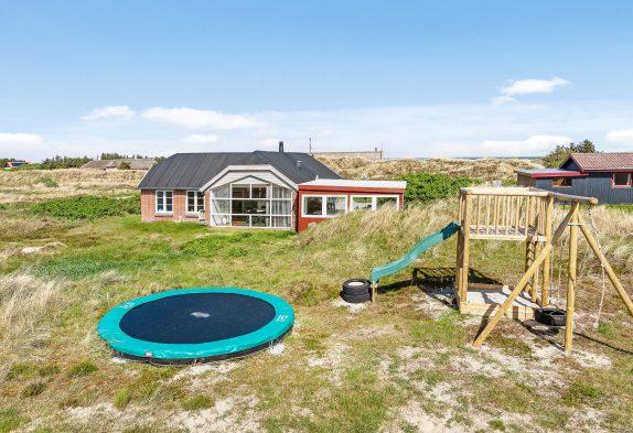 Ferienhaus mit Außenwhirlpool und Sauna