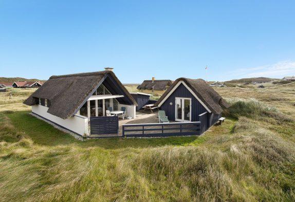 Gepflegtes Sommerhaus mit Reetdach in Årgab
