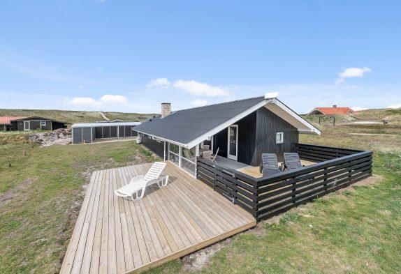 Charmantes Ferienhaus mit Sauna und Kaminofen in strandnaher Lage